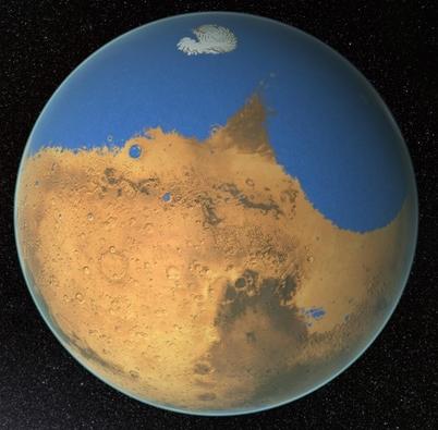 火星にはかつて豊富な水と大気が存在した